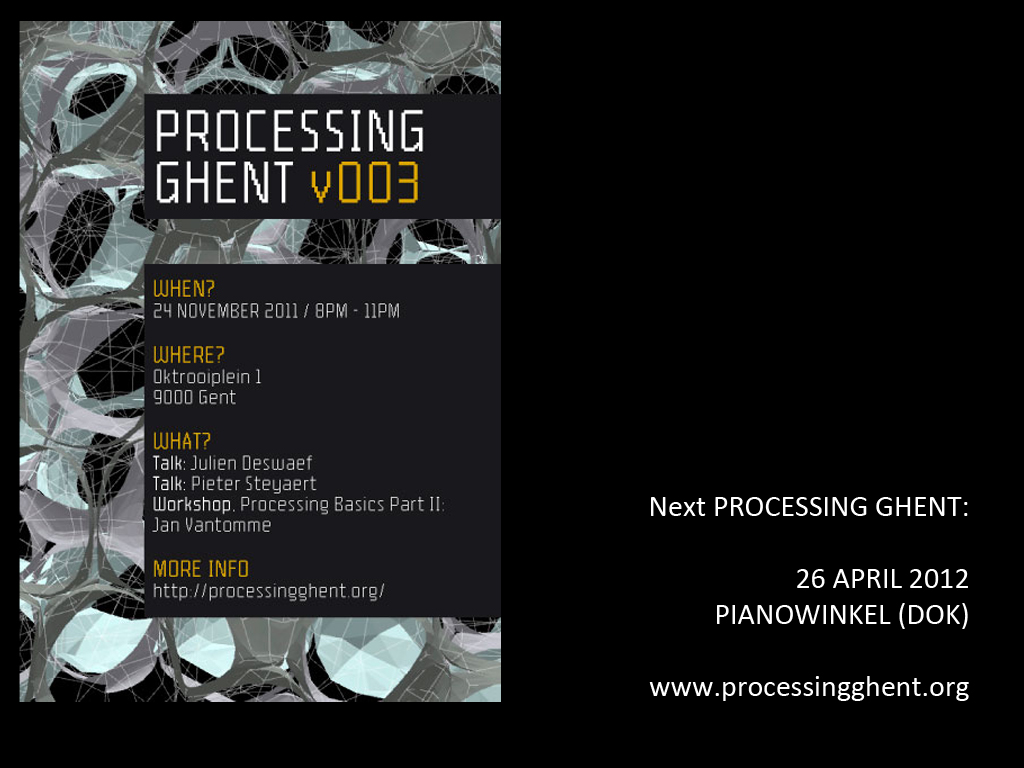 Processing Ghent